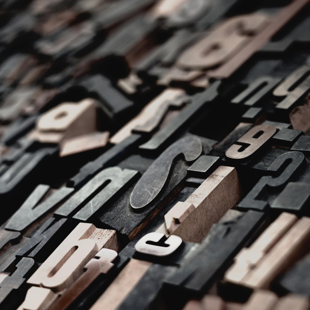 Closed-up of wood types.